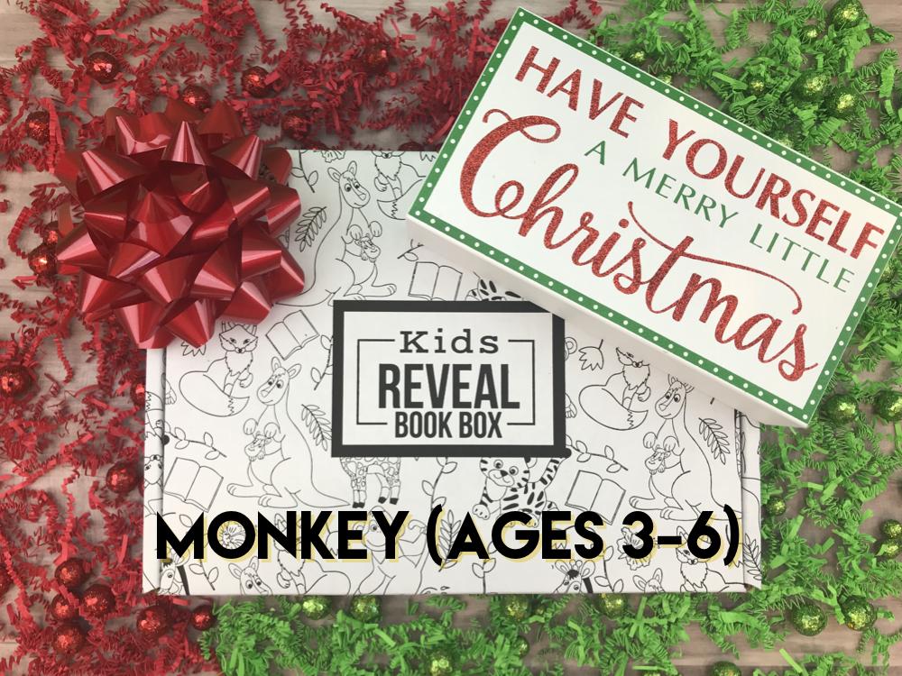 Christmas Monkey Box (ages 3-6)