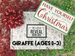 Christmas Giraffe Box (Ages 0-3)